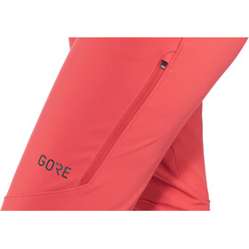 GORE WEAR H5 Windstopper Pantalones Mujer, hibiscus pink